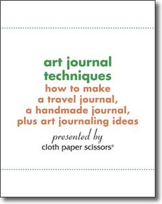 Learn how to make an art journal, travel journal, and more, all with this free eBook collection!