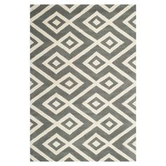 You'll love the Wilkin Dark Grey & Ivory Area Rug at Wayfair - Great Deals on all Décor  products with Free Shipping on most stuff, even the big stuff.