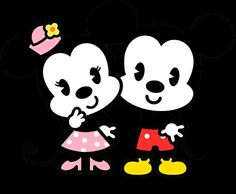Baby Mickey & Minnie Mouse <3