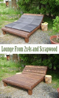 This only a couple of hours from idea to chill out - an easy project that will please your BBQ-guests as well as yourself.