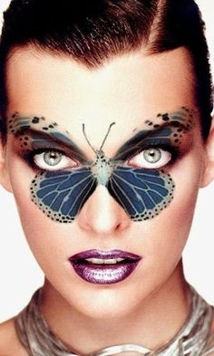 Butterfly ~ Face Art                                                                                                                                                                                 More