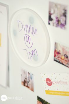 onegoodthing by Jilli site Some ( new to me) ideas for plastic lids For kids of all ages.