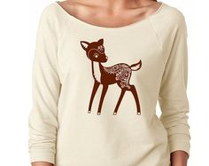 Image result for nature conservancy sweatshirt with woodland creatures