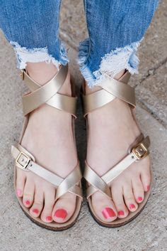 Faux Leather Designer Inspired Strappy Sandals – UOIOnline.com: Women's Clothing Boutique