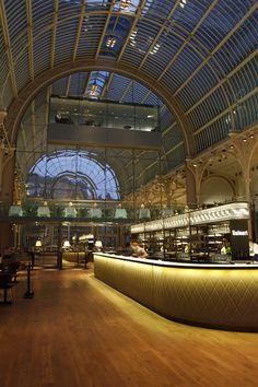 Paul Hamlyn Hall Champagne Bar by B3 Designers, London  hotels and restaurants
