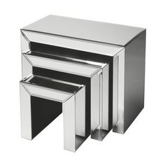 Emerson Mirrored Nesting Tables