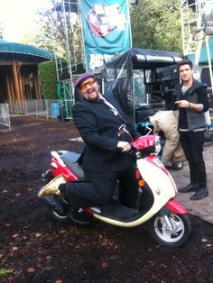 """Just found this pic from behind the scenes of the BTR movie. Cracked me up!"""