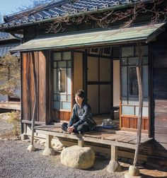 Japanese Guy in a Japanese Home #Japan #Beautiful #Place