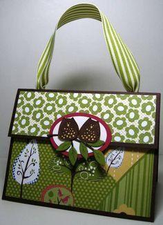 paper bag purse