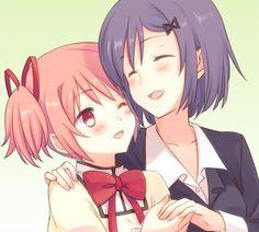 Madoka and Junko Kaname | Mahou Shoujo Madoka Magica