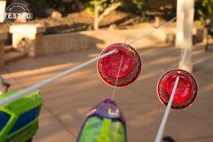 Squirt Gun Races - Made From Pinterest