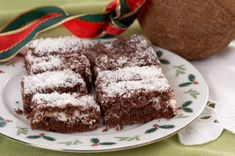 Kokosové řezy Food And Drink, Cakes, Scan Bran Cake, Kuchen, Pastries, Cookies, Pies, Cookie Recipes, Cake