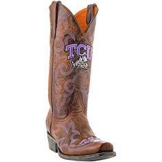 Gameday TCU Horned Frogs Cowboy Boots
