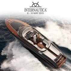 The #Riva #Yacht Rivarama Super will be showcased at the International Boat Show INTERNAUTICA 2015
