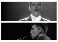 If Adam  Freddie did a duet: Who wants to live forever. #freddiemercury #AdamLambert  #queen Click the pic to be redirected. | source: Adam Lambert Edits Vine