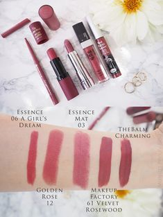 58 Ideas Makeup Dupes Essence I Love For 2019 Lipstick Art, Lipstick Dupes, Makeup Dupes, Lip Makeup, Lipsticks, Best Lip Gloss, Diy Lip Gloss, Golden Rose Lipstick, Couleur Rose Pale