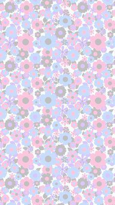 Phone Wallpaper Pastel Floral Flower