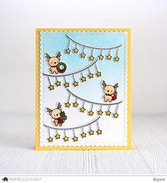 mama elephant | design blog: INTRODUCING: Little Santa Agenda, Little Reindeer Agenda, Straight Sliders CC
