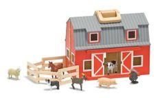 Melissa & Doug Fold and Go Mini Barn by Melissa & Doug, http://www.amazon.com/dp/B001QBTAOY/ref=cm_sw_r_pi_dp_pWwHqb0PNYP0A    $38.45