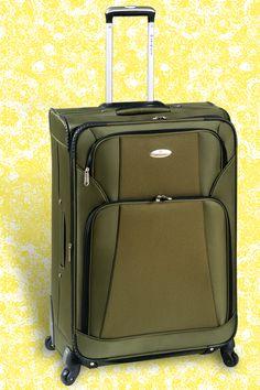 COLECCION OSLO Valija con 4 ruedas giratorias. Expandible. Bolsillos frontales. Confeccionada en Poliester 840D. Opción en colores. http://www.primicia.com.ar