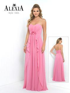 Style 182L in Rose #BridesmaidDress #Style #Fashion #Luxury