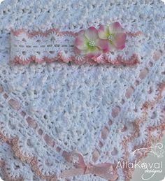 Fluffy Clouds. Crochet Baby Blanket Pattern for Babies & Kids