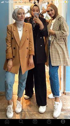 Modest Fashion Hijab, Modern Hijab Fashion, Modesty Fashion, Hijab Fashion Inspiration, Islamic Fashion, Muslim Fashion, Modest Outfits, Casual Outfits, Fashion Outfits