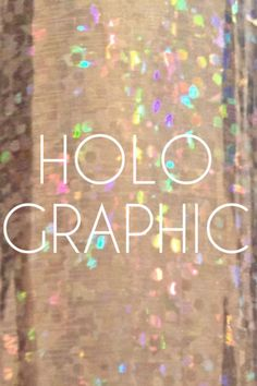 Holographic #pop ~ a 90's classic!