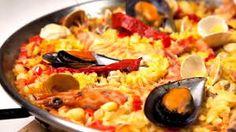 Tradicional Spanish dish, Paella