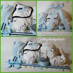 Sleeping diaper babies diaper cakes baby by Gottagetadiapercake, $60.00