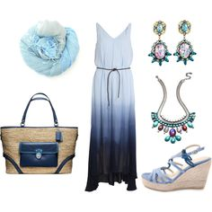 """""""Forever Blue"""" by heike-muller on Polyvore"""