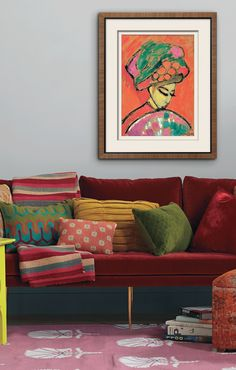 Fill your walls with art you love.