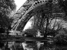 Paris in black and white.