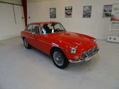*SOLD* 1969 MG MGC GT  Wonderful MGC GT with automatic transmission in great cosmetic and mechanical condition.  First registration dating back to July 31, 1969. The car has Danish papers and registration since new. The current Danish title dates back to 2003, so this car is coming out of long-term Danish ownership.  - K256 July 31, Automatic Transmission, Danish, Cars For Sale, Classic Cars, Cars For Sell, Danish Pastries, Vintage Classic Cars