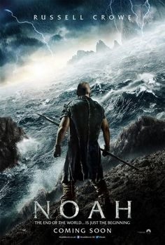 #Noah movie poster, featuring Russell Crowe!