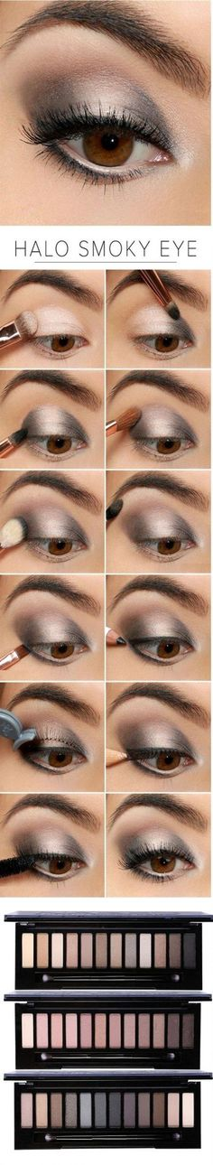 "Family Deals Make up Select ""Naked"" Smoky Eye shadow maquillaje maquillage Eye Makeup Tips, Skin Makeup, Beauty Makeup, Makeup Ideas, 80s Makeup, Dead Makeup, Witch Makeup, Clown Makeup, Scary Makeup"