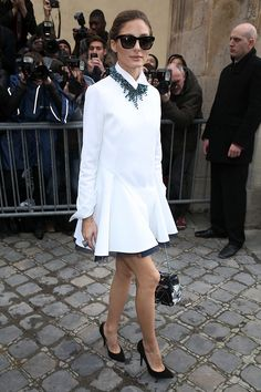 Olivia+Palermo's+Guide+to+Wearing+All+White+via+@WhoWhatWear