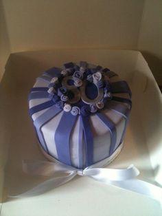 80th birthday cake.