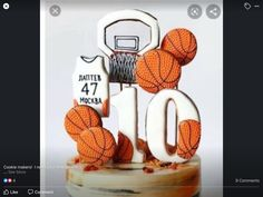 Sports Themed Cakes, Cookies, Crack Crackers, Biscuits, Cookie Recipes, Cookie, Biscuit