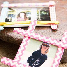 1000 images about ideas para marco de fotos on pinterest - Manualidades para ninos faciles y divertidas ...