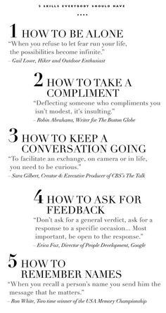 Five life skills with quotes to inspire growth in all areas. Life Skills, Life Lessons, Life Tips, Life Hacks, Life Advice, Quotes To Live By, Me Quotes, Dr Phil Quotes, Funny Quotes