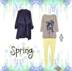 Dale color a la Primavera!!