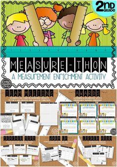 Measure-Thon - Bringing Second Grade Measurement Standards To Life | Core Inspiration | Bloglovin'
