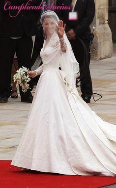 Cumpliendo Sueños: Nancy se viste de princesa europea - Novia