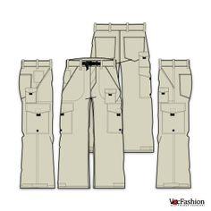 Cargo Pants Pattern