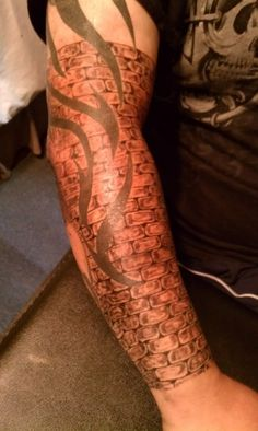 The 36 Best Tattoo Sleeve Fill In Ideas Images On Pinterest Arm