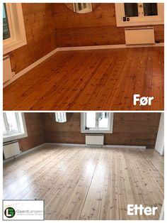 Dette gulvet var jeg i Stavanger å slipte og lysnet med hvitlakk. Selvsagt vannbasert gulvlakk i matt utførelse. Tile Floor, Flooring, Texture, Crafts, Surface Finish, Manualidades, Tile Flooring, Hardwood Floor, Handmade Crafts