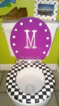 Car Paint Toilet Seat Toilet and Bathroom stuff