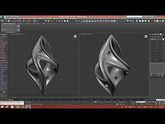 3d Tutorial | Twisted Fantasy Pendant | 3dsmax - YouTube