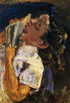 chaïm soutine(1894-1943), woman asleep over a book, c. 1937. oil on panel, 57 x 41.9 cm. private collection http://www.the-athenaeum.org/art/full.php?ID=56773